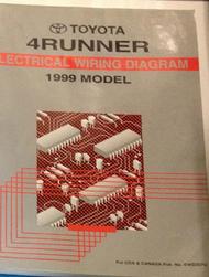 1999 TOYOTA SIENNA VAN Service Shop Repair Manual SET W ...