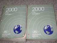 2000 Ford F-150 F150 Truck Service Shop Repair Workshop Manual Set FACTORY OEM
