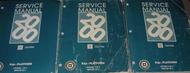2000 GM CADILLAC DEVILLE Service Repair Shop Workshop Manual Set Factory Worn