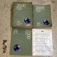 2000 Ford Mustang Gt Cobra Mach Workshop Service Shop Manual Set W EWD OEM +
