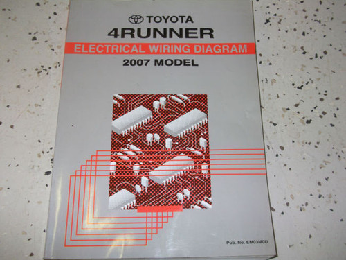 Diagram  2008 Toyota 4runner 4 Runner Electrical Wiring