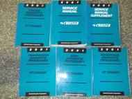 2001 Chrysler PT Cruiser Repair Shop Service Manual Set W Diagnostic Procedures