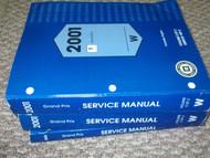 2001 PONTIAC GRAND PRIX Service Shop Repair Workshop Manual Set FACTORY W EWD