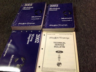 2002 Ford Mustang Gt Cobra Mach Service Shop Workshop Repair Manual Set W EWD TS