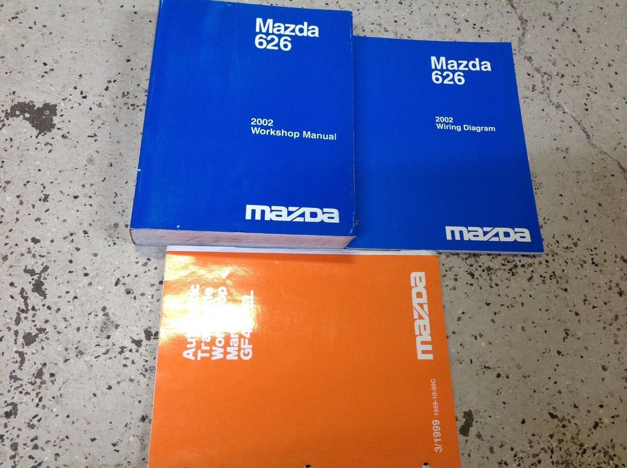 2002 Mazda 626 Service Repair Shop Workshop Manual Set W Ewd   Transaxle Bk Oem