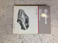 2002 Lexus IS300 IS 300 Service Shop Repair Workshop Manual Volume 2 Only Engine