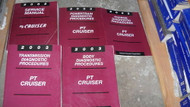 2003 CHRYSLER PT CRUISER Repair Shop Service Workshop Manual Set W Diagnostics