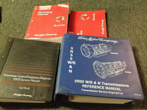 2003 Ford Ranger Truck Service Shop Repair Manual Set W