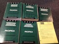 2004 CHRYSLER PACIFICA Service Repair Shop Manual Set W Diagnostics + Bulletin P