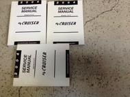 2004 CHRYSLER PT CRUISER Repair Shop Service Workshop Manual Set W NEW