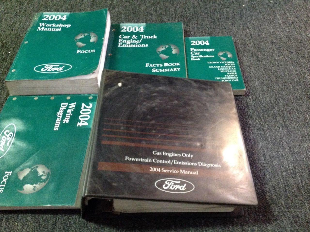 2004 Ford Focus Service Repair Shop Workshop Manual Set