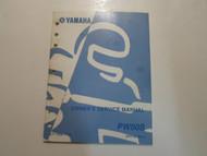 2004 Yamaha PW50S Owners Service Repair Shop Workshop Manual FACTORY OEM