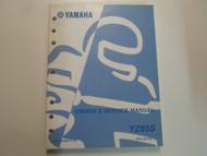 2004 Yamaha YZ85S Owners Service Repair Shop Manual FACTORY OEM