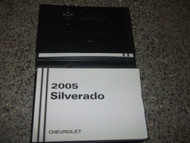 2005 CHEVY SILVERADO TRUCK Owners Operators Owners Manual OEM Factory