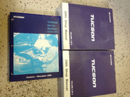 2005 HYUNDAI TUCSON Service Repair Shop Workshop Manual Set W Tech Bulletins