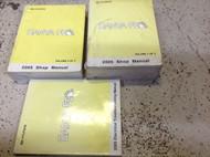 2005 Hyundai Santa Fe Service Repair Workshop Shop Manual Set W ETM OEM Worn