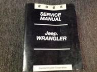 2005 JEEP WRANGLER Service Shop Repair Workshop Manual OEM Factory