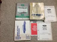 1992 Ford Crown Victoria Grand Marquis Service Repair Shop Manual Set W EWD +