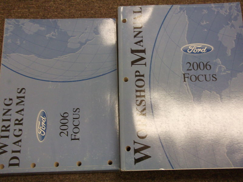 2006 Ford Focus Service Repair Shop Workshop Manual Set ...