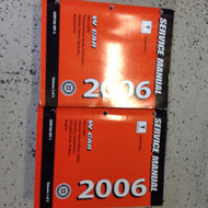 2006 GM Pontiac Grand Prix Service Shop Repair Workshop Manual Set FACTORY OEM