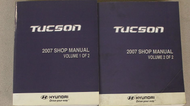 2007 Hyundai Tucson Service Repair Shop Workshop Manual SET FACTORY NEW