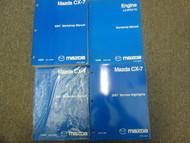 2007 Mazda CX-7 CX7 Service Repair Workshop Shop Manual Set OEM Factory