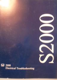 2008 Honda S2000 Electrical Wiring Diagram Troubleshooting Manual ETM OEM