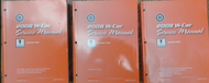 2008 Pontiac Grand Prix Service Shop Repair Workshop Manual Set FACTORY OEM