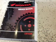 2009 2010 2011 2012 2013 2014 HONDA CRF450R CRF Service Repair Shop Manual