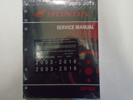 2009 2010 2011 2012 2013 2014 HONDA CRF150F CRF 150 Service Shop Manual NEW