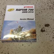 2009 2010 Yamaha RAPTOR 700 Service Repair Workshop Shop Manual FACTORY New