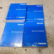 2009 Mazda5 MAZDA 5 Service Repair Shop Manual Set W EWD Body Highlights OEM