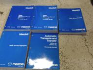 2009 Mazda MAZDA6 Service Repair Workshop Shop Manual Set W EWD & Highlights +