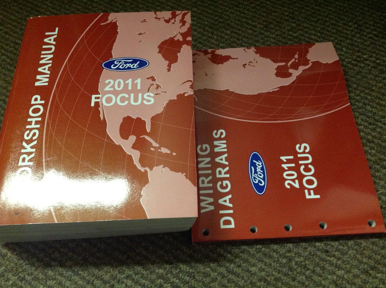 2011 Ford Focus Service Shop Repair Workshop Manual Set W