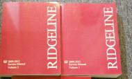 2012 Honda RIDGELINE TRUCK Service Shop Workshop Repair Manual NEW