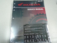 2013 2014 2015 2016 2017 2018 HONDA CBR600RR/RA CBR Service Repair Shop Manual