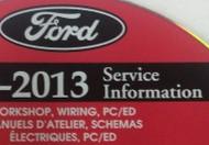2013 Ford F650 F750 F-650 Truck Workshop Service Shop Repair Manual ON CD NEW