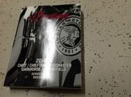 2014 2015 2016 Indian Chieftan Chief Roadmaster Service Shop Repair Manual New