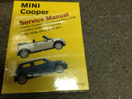 2007 2008 2009 2010 2011 MINI COOPER S CONVERTIBLE Service Repair Shop Manual NW