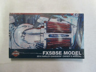 2014 Harley Davidson FXSBSE Owner Owners Operators Manual NEW 2014