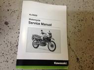 2016 KAWASAKI KLR650E KLR 650 Service Shop Repair Workshop Manual OEM