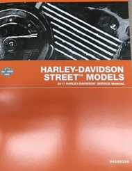 2017 Harley Davidson Street Models Service Shop Repair Workshop Manual Brand New