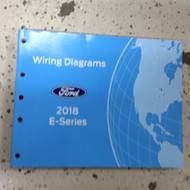 2018 FORD E SERIES ECONOLINE Electrical Wiring Diagram Manual OEM 2018