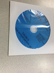 2018 Ford Taurus Police Interceptor Service Shop Repair Workshop Manual CD NEW