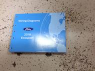 2018 Ford Transit Ecosport Wiring Electrical Diagram Manual OEM Factory EWD ETM