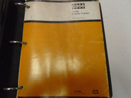 Case 1150B Crawler Tractor Parts Catalog Manual Factory OEM Book Used