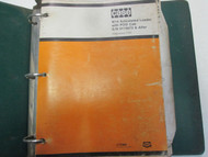 Case W14 Articulated Loader POD Cab Parts Catalog Manual Factory OEM Book ***