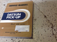 Datsun Pick Up Truck 520 Series Service Shop Repair Workshop Manual OEM Factory