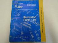 Eaton Fuller RT-913 RT-9513 Series Transmission Parts Catalog Manual Used Book *