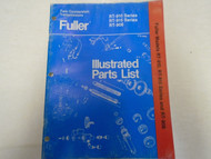 Eaton Fuller RT-910 RT-915 RT-906 Series Transmission Parts Catalog Manual ***